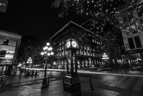 Michael bjorge gastown gastown steam clock