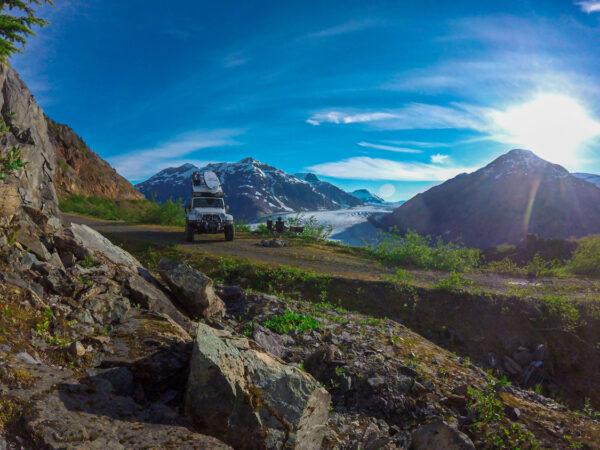 salmon glacier camp, mountain photos by gopro
