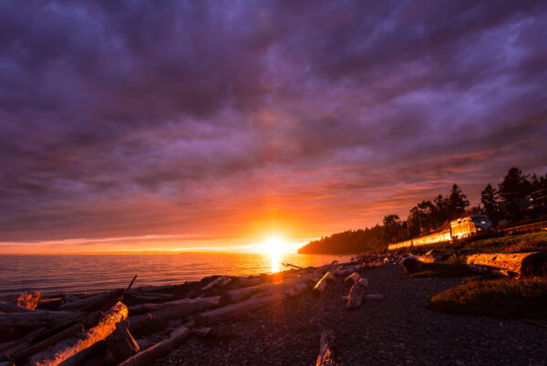 photos of white rock bc, white rock, landscape photography, photos of sunsets